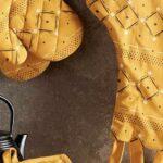 ١۵ مدل سرویس آشپزخانه پارچه ای به رنگ زرد