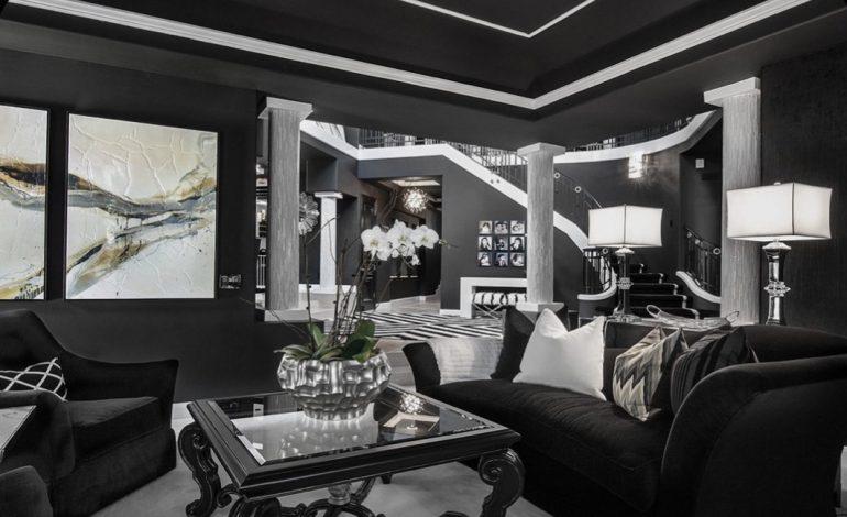 ٢٠ مدل دکوراسیون داخلی منزل به رنگ سیاه (مشکی)