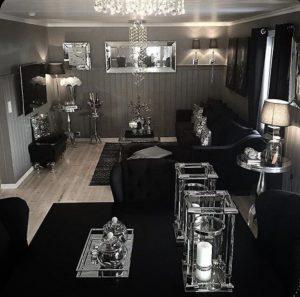 دکوراسیون داخلی منزل سیاه